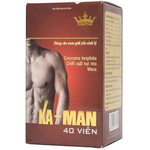 Thực Phẩm Chức Năng Tăng Cường Sinh Lý Nam Ka-Man Kingphar