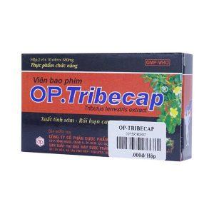 Viên uống bổ thận tráng dươngOp.Tribecap Opc