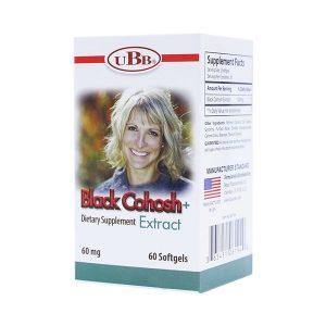 Viên Uống Cho Phụ Nữ Tiền Mãn Kinh Black Cohosh+ Extract Ubb 60 Viên