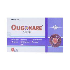 Viên Uống Nâng Cao Chất Lượng Tinh Trùng Oligokare Twice Daily Saka 30 Viên