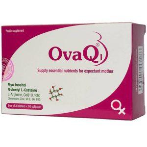 Viên Uống Hỗ Trợ Tăng Khả Năng Mang Thai Ovaq1 Mediplantex 30 Viên
