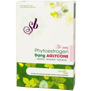 Viên Nang Sb Natural Link 3X10 Bổ Sung Phytoestrogen Dạng Aglycone