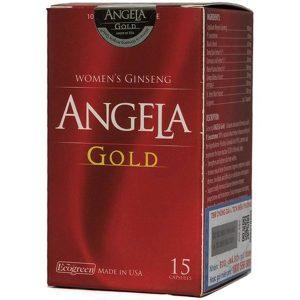Viên Sâm Angela Gold Ecogreen 15 Viên