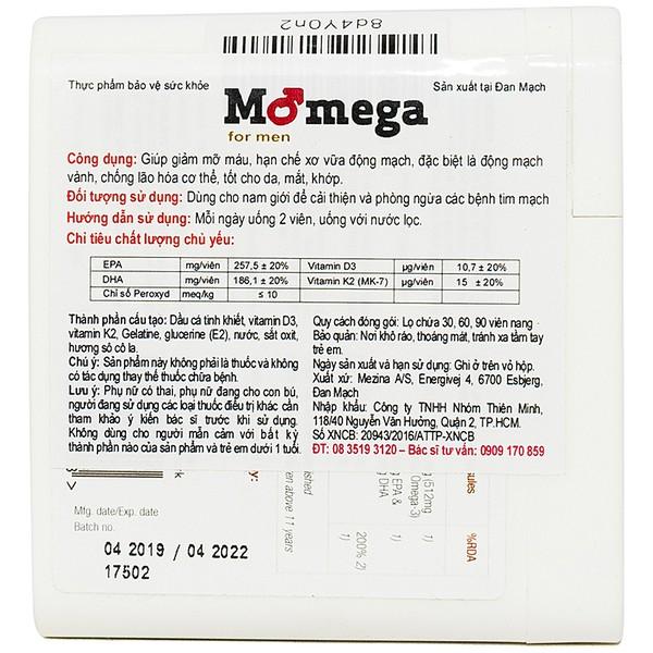 Momega For Men 60V