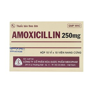 Amoxicillin 250Mg Mkp