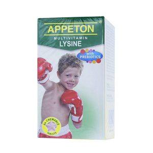 Viên Nhai Bổ Sung Vitamin Cho Trẻ Appeton Multivitamin Lysine 60 Viên