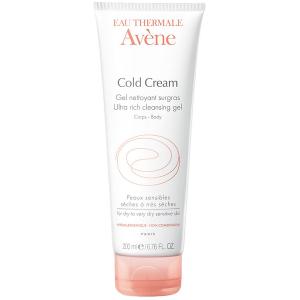 Gel Tắm Dành Cho Da Khô Eau Thermale Avène Cold Cream Ultra Rich Cleansing Gel 200Ml