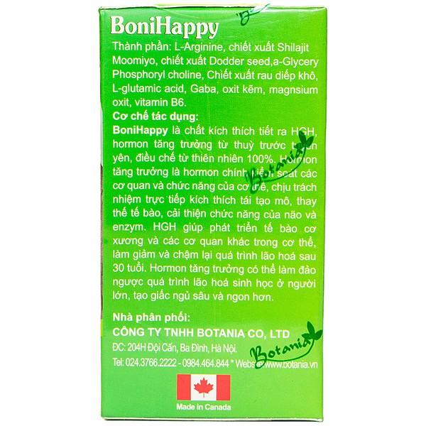 Viên Uống Hỗ Trợ Điều Trị Mất Ngủ Bonihappy Botania 60 Viên