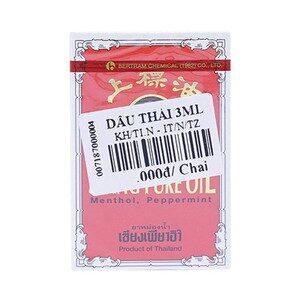 Dầu Thái 3Ml  Chai