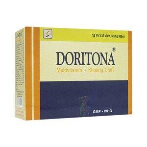 Doritona (Multivitamin + Khoáng Chất, Viên Nang Mềm)