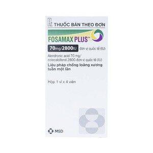 Fosamax Plus 70Mg/2800Iu