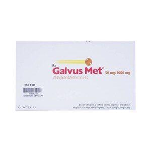 Galvus Met 50/1000Mg