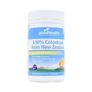 Bột Sữa Non Nguyên Chất Goodhealth 100% Colostrum From New Zealand 100G