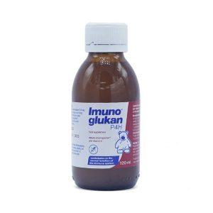 Siro Tăng Sức Đề Kháng Imunoglukan P4H Pleuran 120Ml