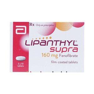 Lipanthyl Supra 160Mg
