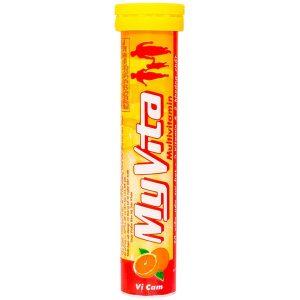 Viên Sủi Bổ Sung Vitamin Myvita Multivitamin Vị Cam 20 Viên