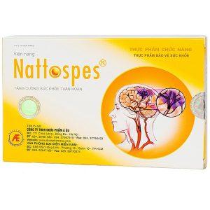Viên Nang Tăng Cường Sức Khỏe Tuần Hoàn Nattospecs 30 Viên