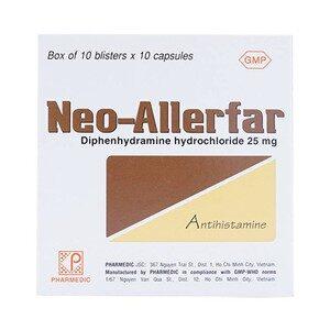 Neo-Allerfar 25Mg 10X10 Pharmedic