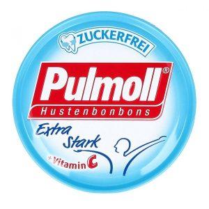 Kẹo Ngậm Ho Không Đường Pulmoll Extra Stark (Vị Bạc Hà) 50G
