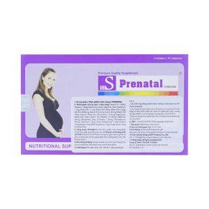 Viên Uống Bổ Sung Vitamin Và Khoáng Chất Cho Bà Bầu S-Prenatal