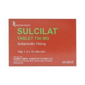 Sulcilat Tablet 750Mg