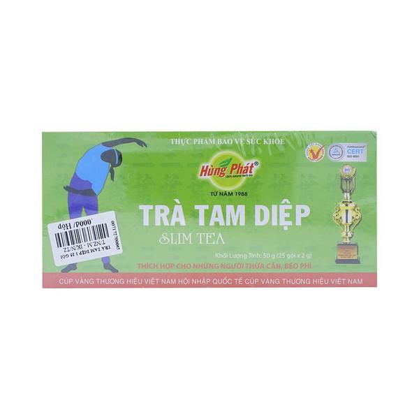 Trà Tam Diệp Slim Tea 1 Hùng Phát 25 Gói