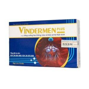 Viên Uống Tăng Cường Lưu Thông Máu Vindermen Plus 30 Viên