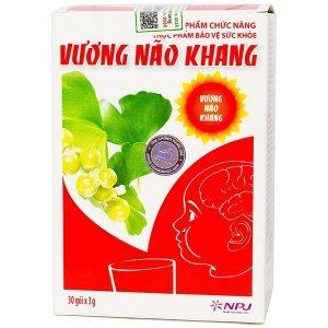 Viên Uống Tăng Cường Trí Tuệ Cho Trẻ Vương Não Khang 30 Gói