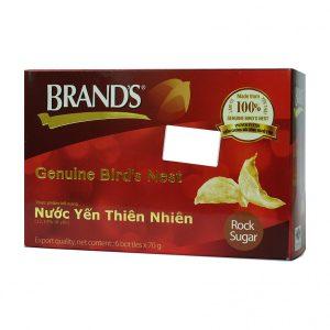 Nước Yến Thiên Nhiên Brand's Genuine Bird's Nest 6 Lọ