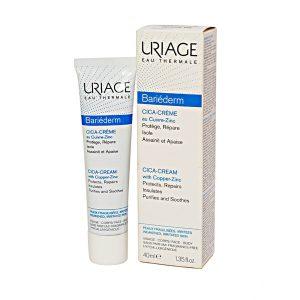 Kem Dưỡng Giúp Làm Dịu Và Mềm Da Uriage Bariéderm Cica-Cream 40Ml