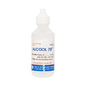 Alcool 70 Độ 60Ml