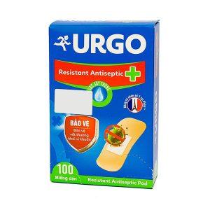 Urgo Resistant.antiseptic 100's