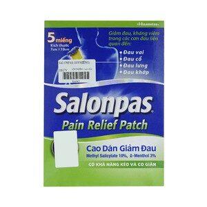 Salonpas Pain Relief Patch Hisamitsu 5 Miếng