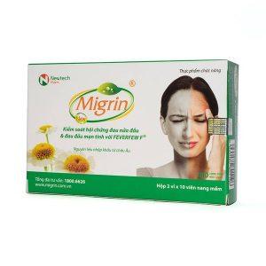 Viên Uống Điều Trị Đau Nửa Đầu Migrin 20 Viên