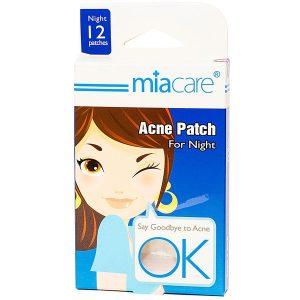 Miếng Dán Mụn Đêm Miacare Acne Patch For Night 12 Miếng