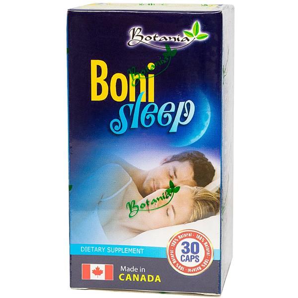 Viên Uống Ngủ Ngon Bonisleep Botania 30 Viên