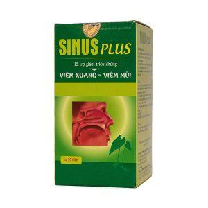 Viên Uống Hỗ Trợ Điều Trị Viêm Xoang Sinus Plus 50 Viên
