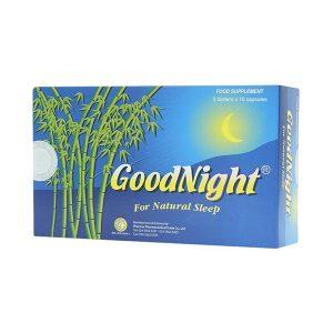 Viên Uống Ngủ Ngon Goodnight - Cho Giấc Ngủ Tự Nhiên 3 Vỉ X 10 Viên