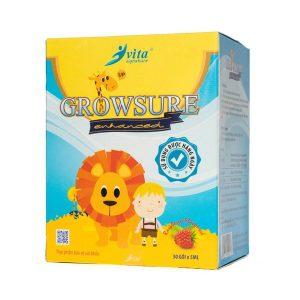 Siro Giúp Trẻ Ăn Ngon Growsure Adc 30 Gói