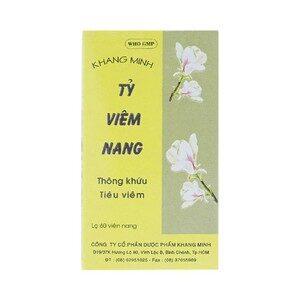 Tỷ Viêm Nang- Hỗ Trợ Điều Trị Viêm Mũi, Viêm Xoang
