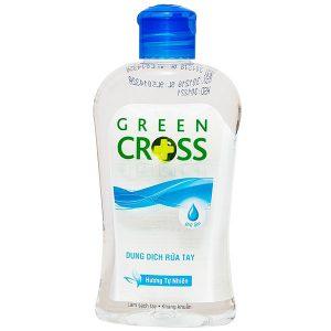 Nước Rửa Tay Khô Green Cross 250Ml Hương Tự Nhiên