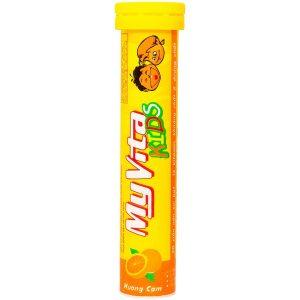 Viên Sủi Bổ Sung Vitamin Cho Trẻ Myvita Kids Hương Cam 20 Viên