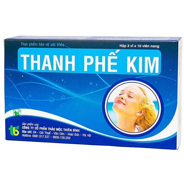 Viên Uống Bổ Phế, Giảm Ho Thanh Phế Kim 30 Viên