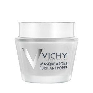 Mặt Nạ Bùn Khoáng Se Lỗ Chân Lông Vichy Pore Purifying Clay Mask 75Ml