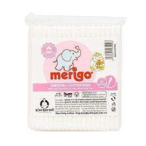 Tăm Bông Bạch Tuyết Merigo 55 Que