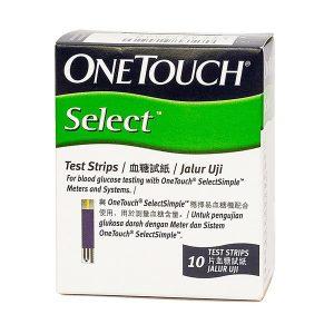 Que Thử Đường Huyết Onetouch Select 10 Cái