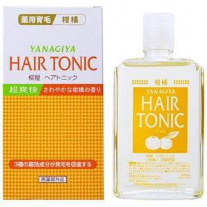 Dưỡng Tóc Hương Bưởi Yanagiya Hair Tonic 240Ml
