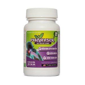 Viên Uống Thảo Dược Điều Trị Viêm Họng Pharysol 30 Viên