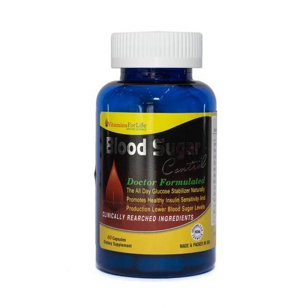 Viên Uống Hỗ Trợ Ổn Định Đường Huyết Blood Sugar Control Vitamins For Life 60 Viên