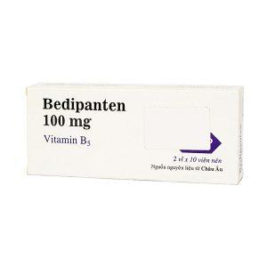 Viên Uống Bổ Sung Vitamin B5 Bedipanten 100Mg Mdp 2 Vỉ X 10 Viên